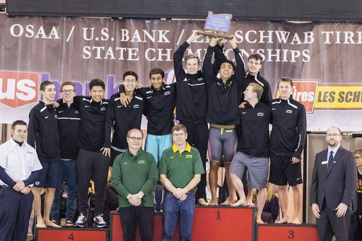 Crusaders Swim to State Title