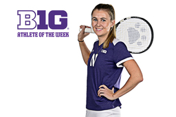 Alumna Tennis Standout Ranked No. 1 in Nation