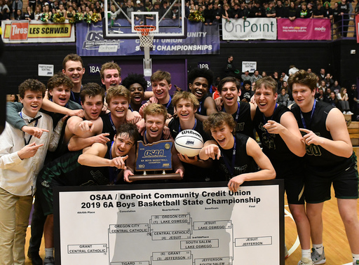 Men's Basketball Team Wins State Championship