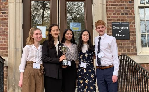 Jesuit High School Ethics Bowl Team Wins Nationals