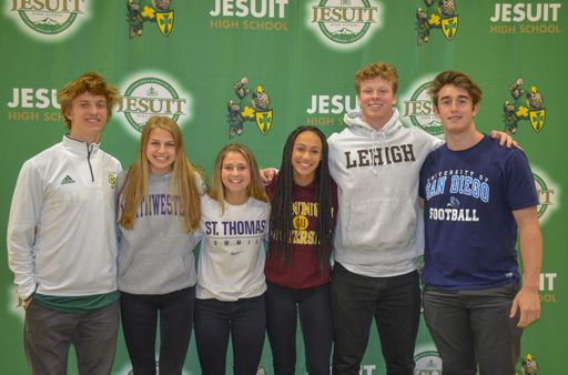 Jesuit Student-Athletes Sign to Colleges
