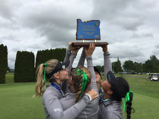 Men's and Women's Golf Teams Win State