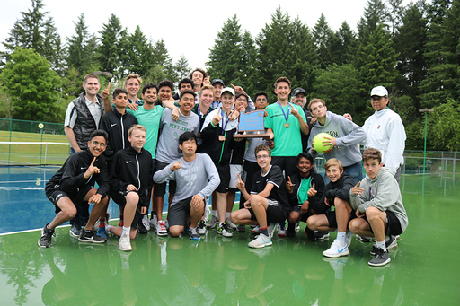 Men's Tennis Team Wins State Championship!