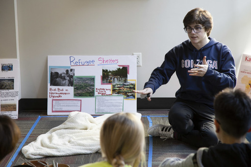Students 'Walk a Mile' through Refugee Experience