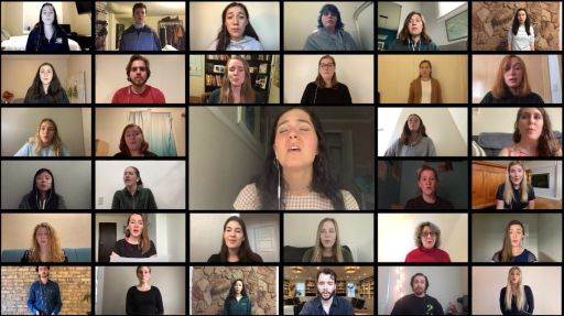 Music Video Connects Students, Alumni from Around the Country