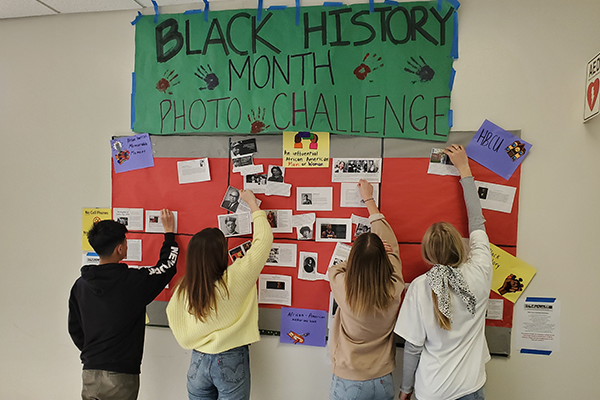 Black History Photo Challenge Inspires Student Role Models